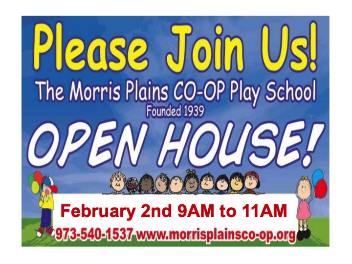 Open House: February 2nd