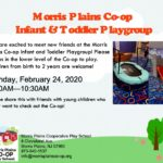 Infant and Toddler Playgroup February 24th