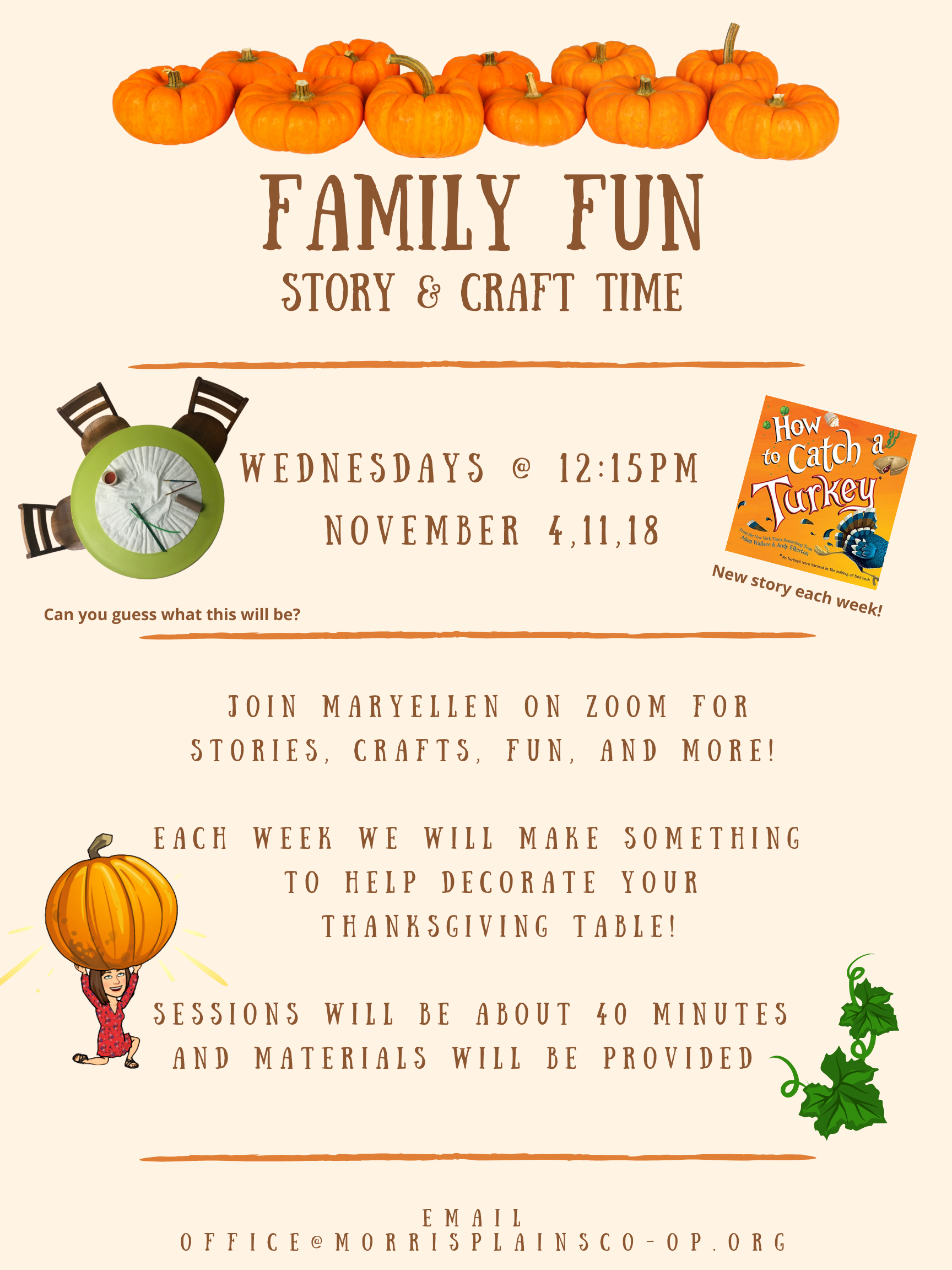 Family Fun Story & Craft Time