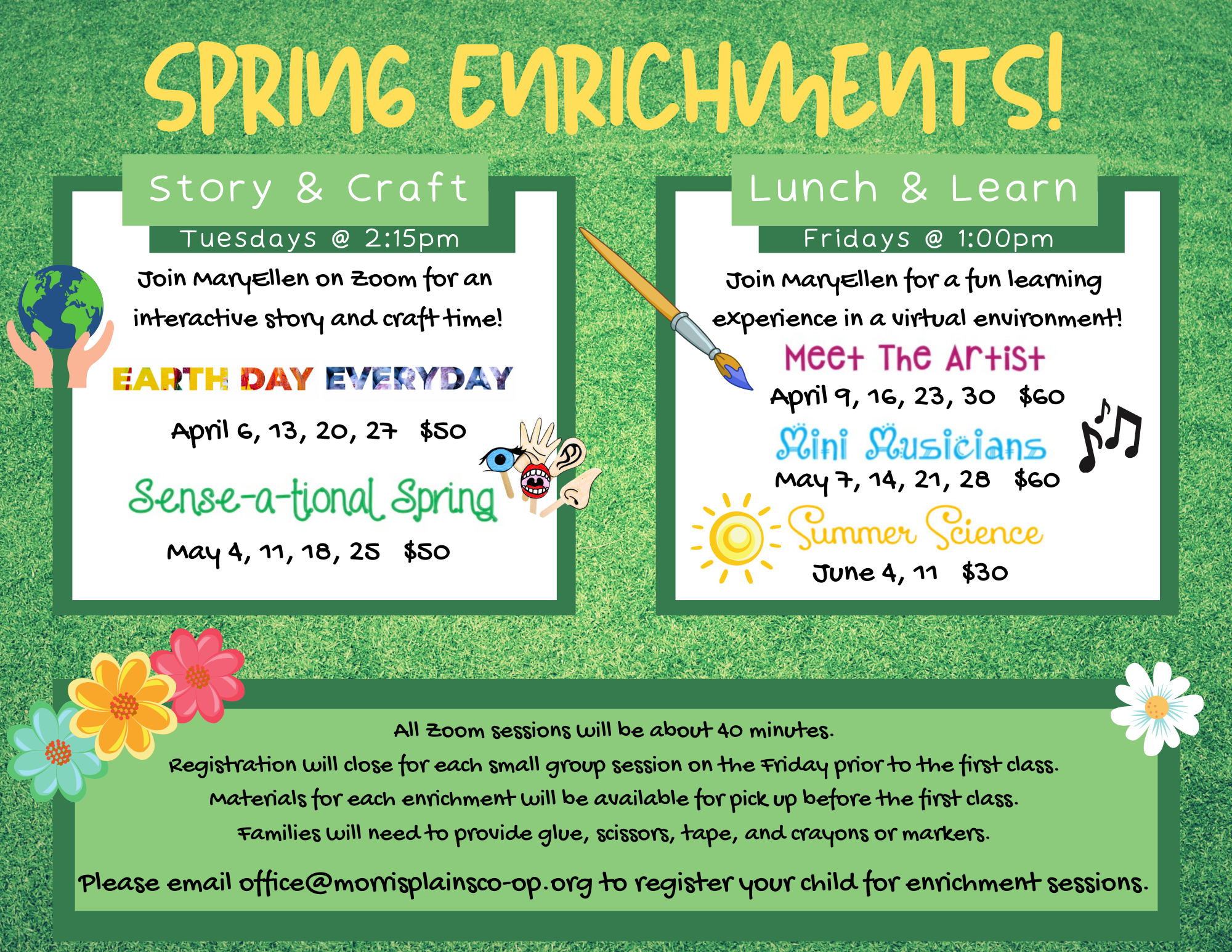 Spring Enrichments